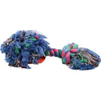 Mammoth Pet Products - Flossy Chews Color Rope Bone Dog Toy - Multicolored - 19Inch/Colossal