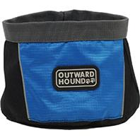 Kyjen Company Inc - Outward Hound Port-A-Bowl - Blue - 48 oz/Medium