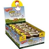 Emerald Pet Products Inc - Smart N Tasty Chicky Twizzies - 6 Inch/30 Count