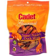 Ims Trading Corp - Cadet Gourmet Wraps - Sweet Potato/Duck - 14 oz