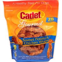 Ims Trading Corp - Cadet Gourmet Wraps - Sweet Potato/Chicken - 28 oz