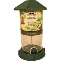 North States Industries - Village Collection Gazebo Bird Feeder - Green - 2.25 Lb Capacity