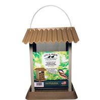 North States Industries - Village Collection Pinecone Bird Feeder - Brown/Silver - 4.25 Lb Capacity