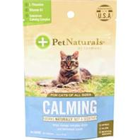 Pet Naturals Of Vermont - Calming Chew For Cats - Chicken Liver - 30 Count