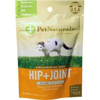 Pet Naturals Of Vermont - Hip + Joint Chew For Cats - Fish - 30 Count