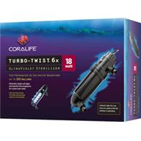 Aqueon Products - Coralife Turbo-Twist Ultraviolet Sterilizer - 6X/18Watt