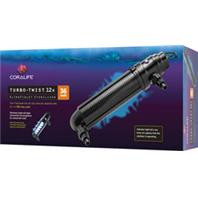 Aqueon Products - Coralife Turbo-Twist Ultraviolet Sterilizer - 12X/36Watt