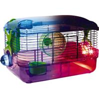 Super Pet - Crittertrail Led Lighted Habitat