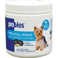 Vets Plus - Pro-Pill Pods With Probiotics For Small Dogs - Peanut Butter - 30 Count