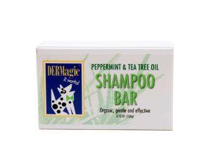 Mendota Pet - DERMAGIC- Organic Shampoo Bar - Peppermint & Tea Tree Oil - 3.5 oz