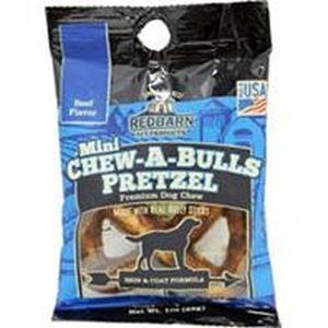 Redbarn Pet Products Inc - Chew-A-Bull Mini Pretzel