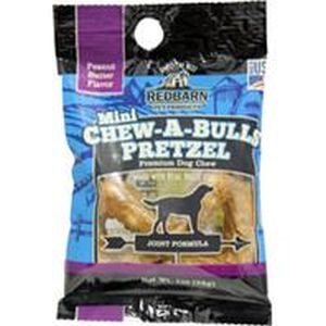 Redbarn Pet Products Inc - Chew-A-Bull Mini Pretzel
