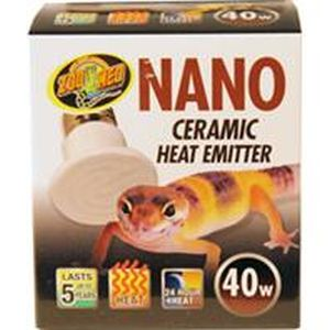 Zoo Med - Nano Ceramic Heat Emitter - 40 Watt