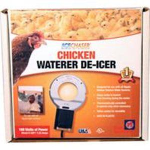 Farm Innovators-Farm - Chicken Waterer Deicer For Nipple-Style Drinkers