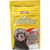 Marshall Pet Prod-Food - Bandits Premium Ferret Treat