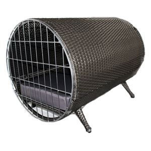 Iconic Pet - Rattan Cylinder Pet Cage