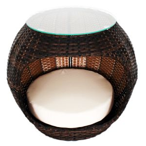 Iconic Pet - Rattan Pet Igloo Bed