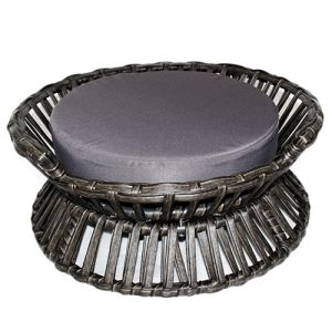 Iconic Pet - Rattan Raised Arc Bed - Small