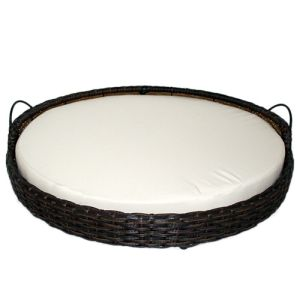 Iconic Pet - Rattan Round Pet Basket - Small