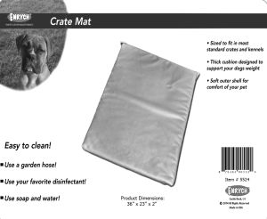 "Enrych Pet - Prison Bed Crate Pads 36"" x 23"" x 2"""