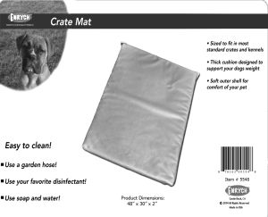 "Enrych Pet - Prison Bed Crate Pads 48"" x 30"" x 2"""