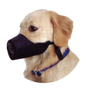 Enrych Pet - Nylon Dog muzzle - Size 4