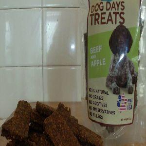 Dog Days Treats - 7 oz Beef and Apple Treats