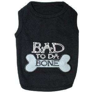 Parisian Pet Bad To Da Bone Dog T-Shirt-Large