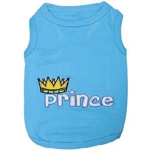 Parisian Pet Prince Dog T-Shirt-Medium