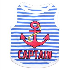 Parisian Pet Captain Dog T-Shirt-X-Small