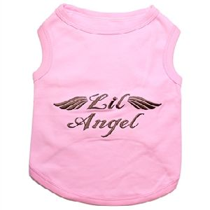 Parisian Pet Lil Angel Pink Dog T-Shirt-XX-Small