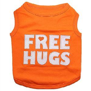Parisian Pet Free Hugs Dog T-Shirt-XX-Small