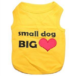 Parisian Pet Small Dog Big Heart Dog T-Shirt-X-Large
