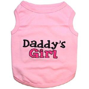 Parisian Pet Daddy's Girl Dog T-Shirt-Large