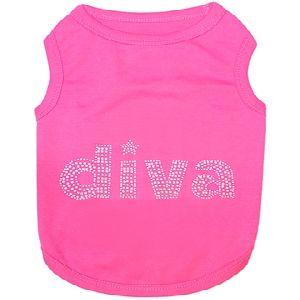 Parisian Pet Diva Dog T-Shirt-3X-Large