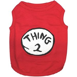 Parisian Pet Thing 2 Dog T-Shirt-Medium