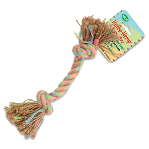"Mesa Pet Products - Hefty-Hemp Rope Toy-12"" long"
