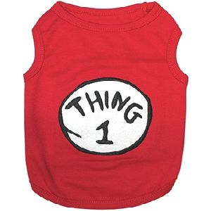 Parisian Pet Thing 1 Dog T-Shirt-Medium