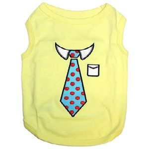 Parisian Pet Tie Dog T-Shirt-Small
