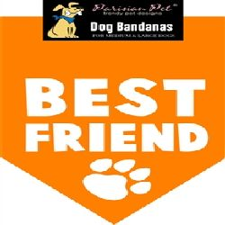 Parisian Pet Best Friend Dog Bandana-Medium/Large