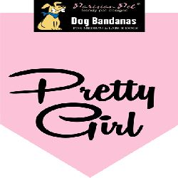 Parisian Pet Pretty Girl Dog Bandana-Medium/Large