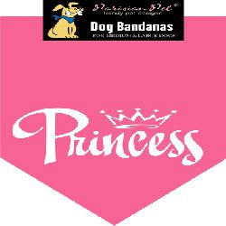 Parisian Pet Princess Dog Bandana-Medium/Large