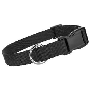 Parisian Pet Nylon Collar Black-Small