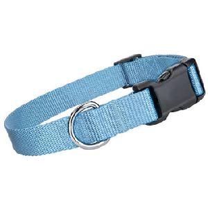 Parisian Pet Nylon Collar Light Blue-Medium