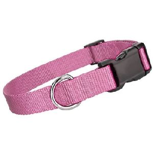 Parisian Pet Nylon Collar Light Pink-Medium