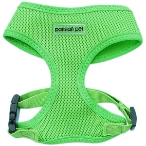 Parisian Pet Mesh Harness Neon Green-Large