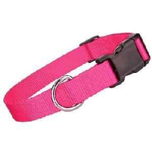 Parisian Pet Nylon Collar Pink-XSmall