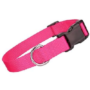 Parisian Pet Nylon Collar Pink-Small