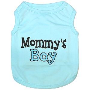 Parisian Pet Mommy's Boy Dog T-Shirt-XX-Small