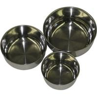 A&E Cage Company - Stainless Steel Bowl - Multicolored - 5 Inch
